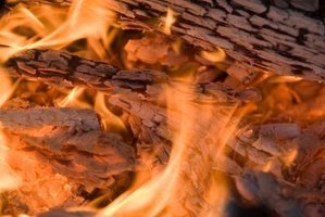 The key to a good wood fire is a slow, steady burn.