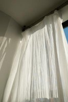 Curtain panels can be combined in many different configurations, depending on the types of windows you have.