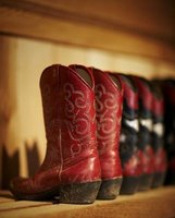 Cowboy boots were invented by cowhands moving cattle westward after the Civil War.