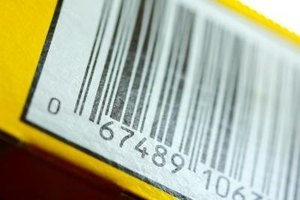 Barcodes help identify items for sale.