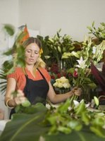 Florists must be able to sell, stock and market flowers on top of creating arrangements.