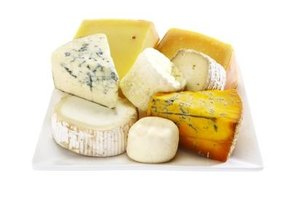 Offer several types of cheese to accommodate a wide variety of tastes.