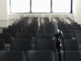 Many people have fears about microphones failing in public situations.