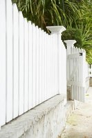 For a beautiful fence, give thought to the paint you choose.