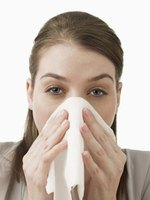 Histamine is often resposible for allergy related headaches, watery eyes and sneezing