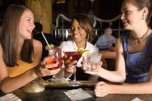 Girls night out is a time to relax and let loose with your best friends.
