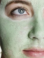 An avocado mask can relieve dry, flaky skin.