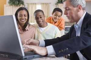 An accountant can be used to find your family's net income percent.