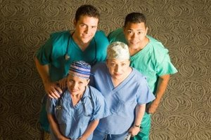Nurses are just one of the professions comprising the health care industry.
