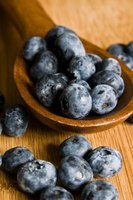 Fresh blueberries can be used for a litmus test.
