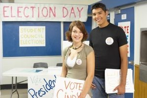 With student council, students can learn about the political process.