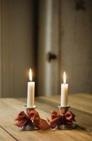 Candles that are unsteady in their holders present a fire risk.