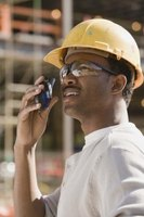 Walkie-talkies are still used in construction.