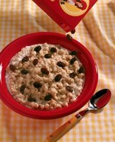 Add raisins to oatmeal for a boost of flavor.