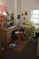 Dorm life is an exciting time for freshmen students.