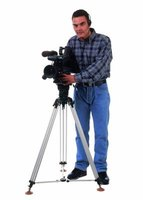 A high-quality video camera is essential for videographers.