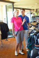 The shaft is a key element in choosing the correct golf clubs.