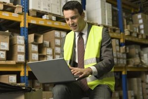 QuickBooks lets you manage inventory within a warehouse, store or other structure.