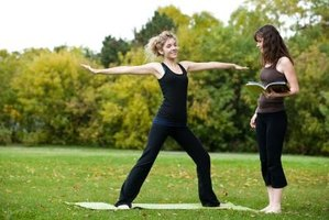 Personal trainers help individuals improve flexibility, strength and endurance.