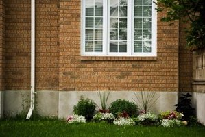 The downspout should direct water three to four feet from a home's foundation.