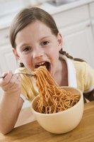 Pasta is a kid-pleaser.