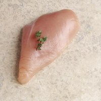 Always thaw a chicken breast before cooking.
