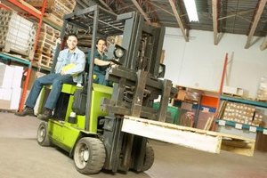 Forklift operation training helps prevent accidents.