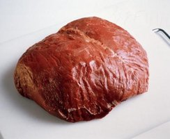 "Sirloin tip roast comes from the ""knuckle"" section of the cow."