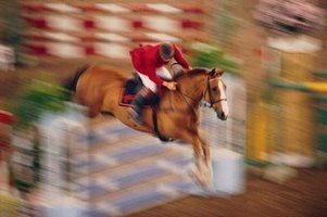 Hosting a jumping competition is one option to raise funds for your horse group.