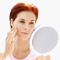 Acne can be cleared up with the use of masks and proper skin care.