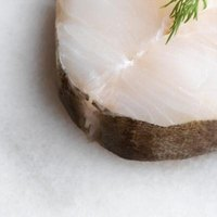 Halibut is a mild-tasting, white fish.