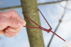 A non-slipping knot is useful in many situations.