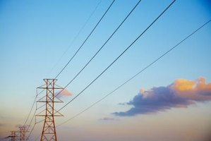 Conductivity allows powerlines to carry electricity from one place to another.