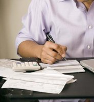 Even with electronic banking, paper checks are commonly written.