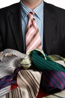 Mens' designer neckties can range in price from $100 to more than $1,000.