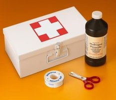 The same hydrogen peroxide you use to treat wounds can disinfect your counters and floors.