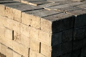 Brick fire rings make useful and inexpensive backyard additions.