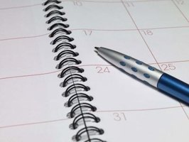 A traditional calendar or planner may not be adapted to your needs.