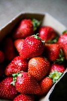 Home-grown strawberries are superior in taste.