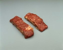 The moist heat of the Romertopf gently braises them to ideal tenderness.