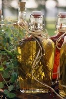 Balsamic and apple cider vinegars make excellent vinaigrettes.