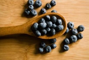 Blueberries are a tasty and healthy treat.