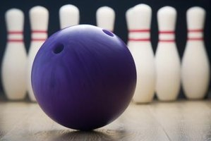 Use the basic colors and shapes of bowling to decorate a bowling banquet.