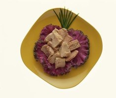 Tuna in oil is more nutritionally dense than tuna in water.