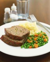 Meatloaf is a classic country style meal.