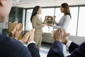 Honor your employees with service awards.
