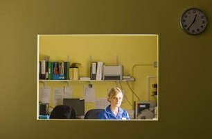 Medical office personnel assist in all aspects of the physician's office.