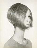 Inverted bobs are shorter in the back and gradually get longer toward the front.