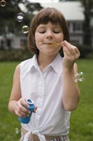 Studying bubbles is an activity that combines science with play time.