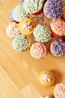 Cupcakes are individually portioned and easy-to-serve party desserts.